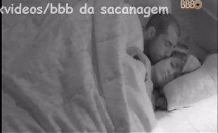 Punheta e sexo com o casal Kaysar e Jessica Transando BBB18