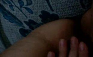 Massageando a buceta