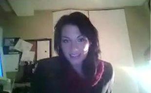Novinha gostosa na webcam